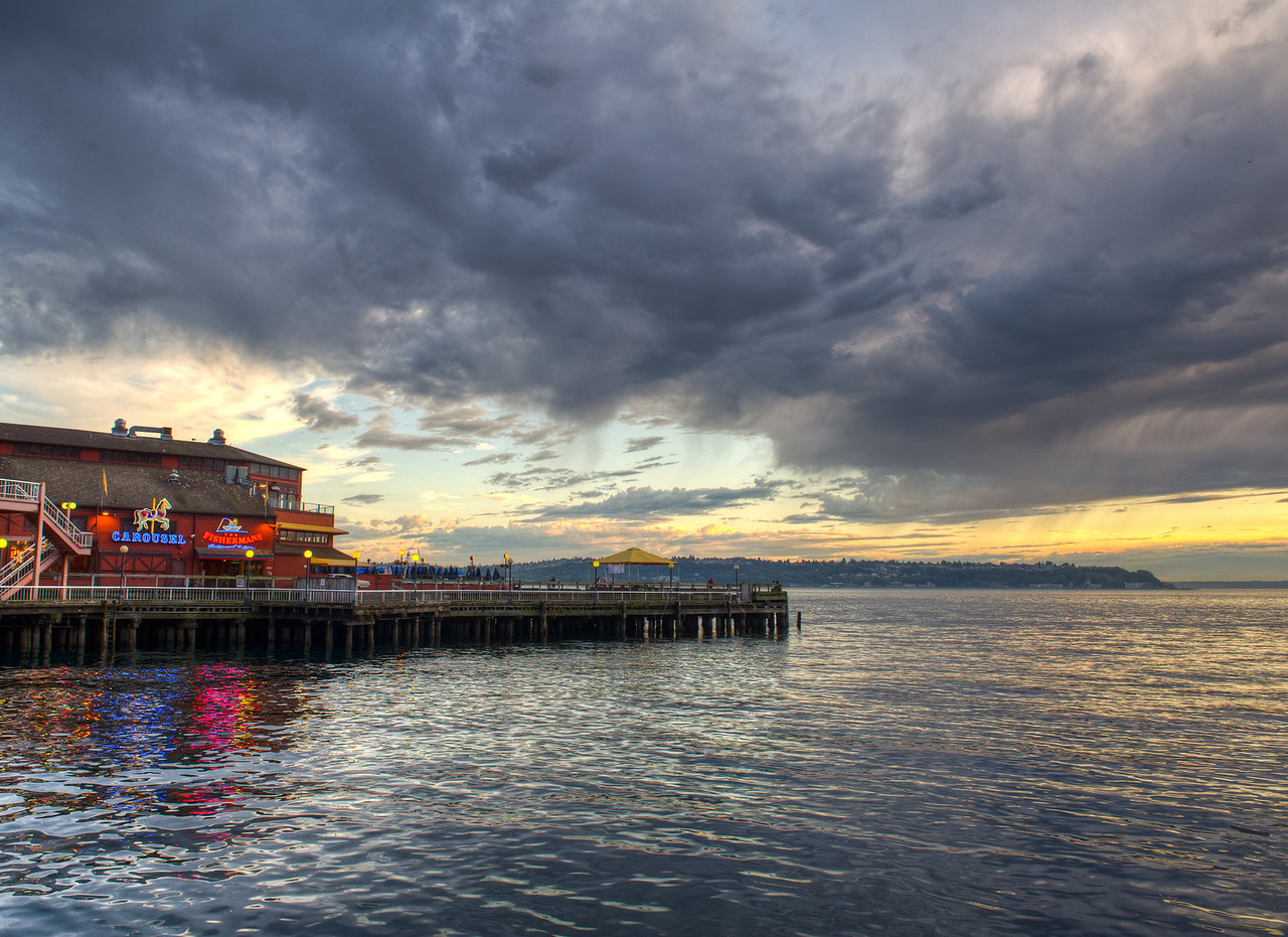 Puget Sound, by The Fisherman's Restaurant & Bar