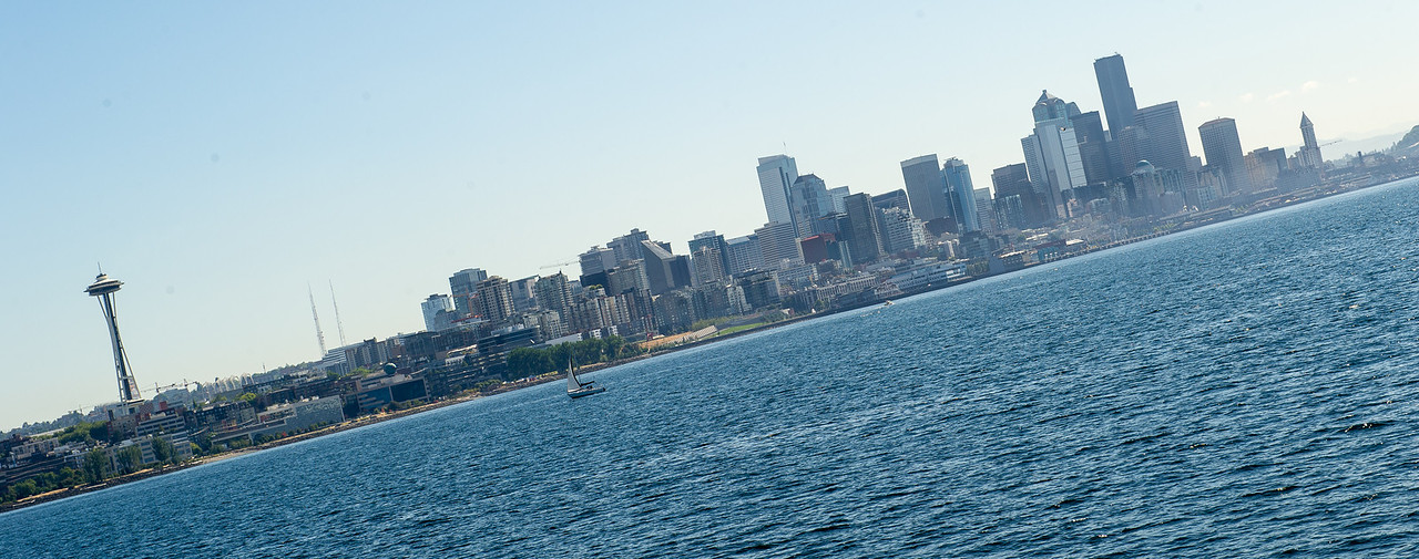 Seattle from the Sound, Wide