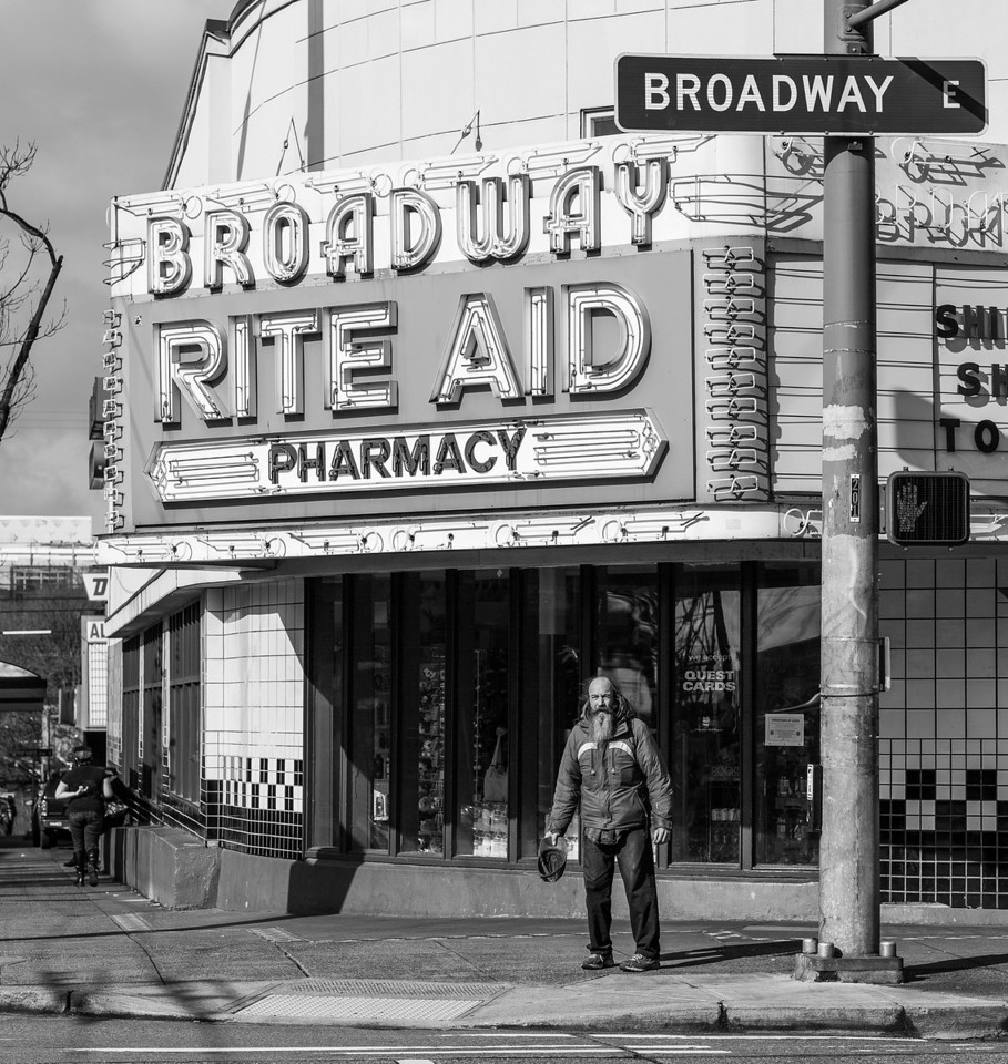 Broadway Black 'n White