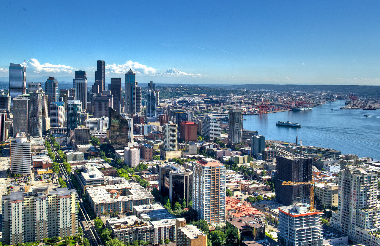 Seattle from the Needle